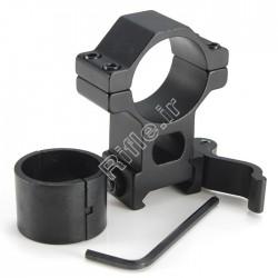 پایه دوربین رینگ 30 و 25 ریل 22