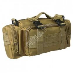 کیف کمری خاکی