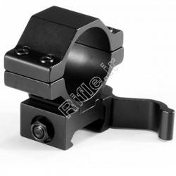 پایه دوربین کلیپسی رینگ 30ریل 22 کوتاه